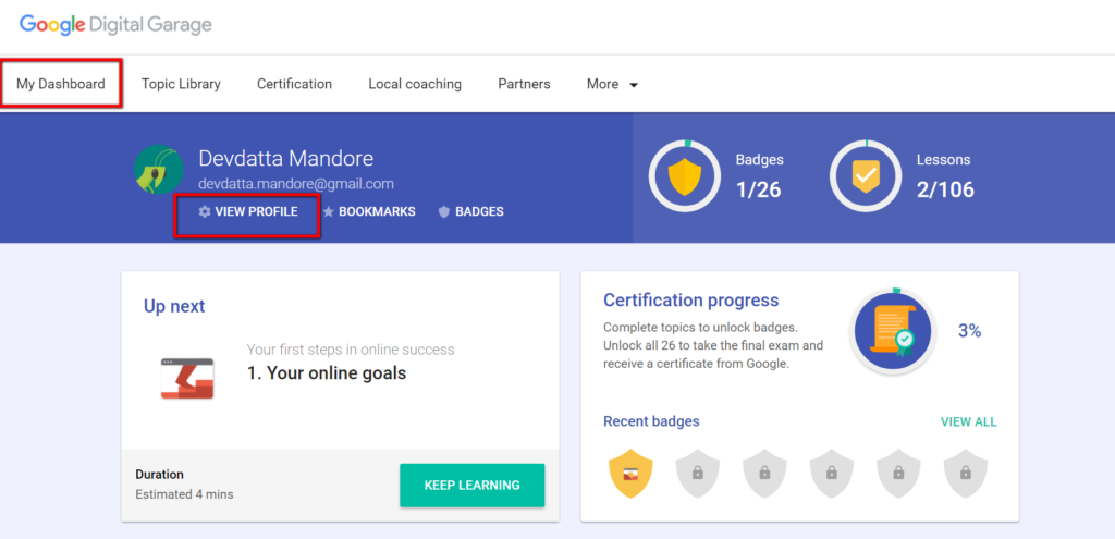 Google Digital Garage Certification A Complete Step By Step Guide